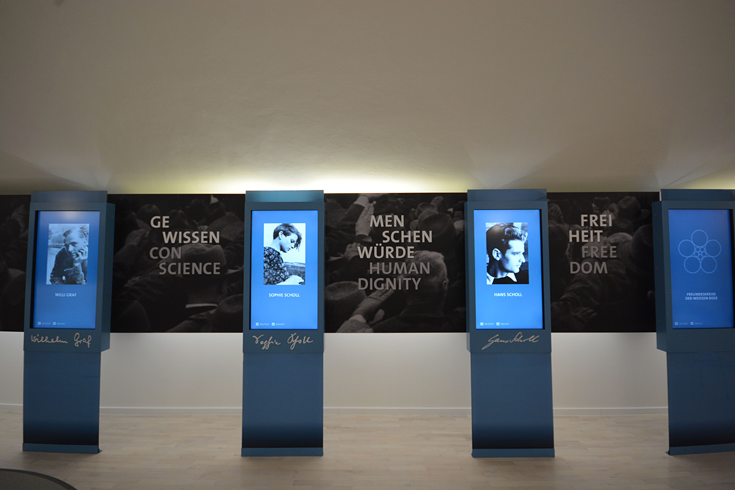 New Munich Student Resistance Installation (LMU, 2/17)