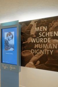 New Munich Student Resistance Installation